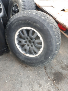 135x6 ford truck rims with 35's