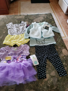 Brand new 3-6 month baby girl lot