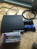 PS3 Slim 160GB with 2 controllers.  DEAL