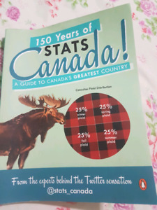 Book - 150 years of stats Canada