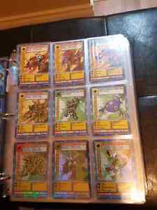 Digimon card collection!