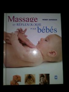 Livre massage bebe