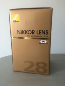 Nikon 28mm 1.8G lens - 100% as new