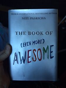 The book of even more awesome by Neil Pasricha, asking $2