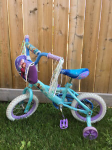 Frozen themed toddler bike in great condition