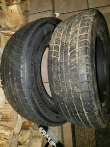 Selling 2 - 205/70/R15 Triangle Snow Lion tires