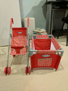 Graco Toy Stroller and Playpen