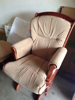 Rocker chair. Needs some TLC and a new baby to rock.
