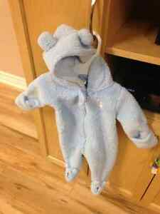 Carters 3 month bear fall coat/suit