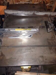 Industrial table saw. Rockwell/Beaver