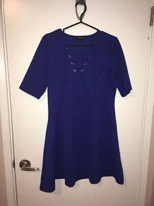 Royal Blue Short Fit & Flare Jessica Dress Size: 12 Edmonton Edmonton Area image 1