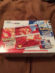 n3ds 20 anniversary + 20 jeux 3ds (pokemon etc) + a9lh + facture