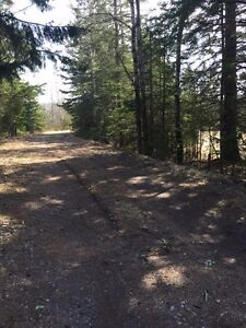 Private 5.5 acre building lot just outside town Limits - Hampton