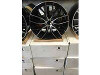 """19"""" alloy wheels Alloys Rims tyre tyres 5x120 BMW 1 2 3 4 5 6 series d m sport"""