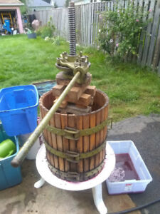 Fruit press for sale or trade