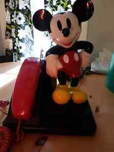 Mickey mouse telephone!