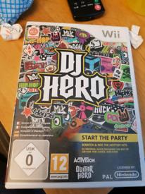DJ Hero wii game