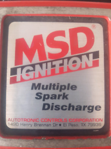 MSD ignition box for 88-98 SBC TBI