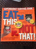 Eat This ....Not That ..Guide Book . Brand New