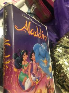 Black Diamond Edition VHS Disney Movies.