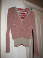 UK Whistles TWIST Layered Top Womans Small 4 6US