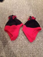 2 For $5.00 BNWT - TCP Winter Hats in Size 12-24 Months.