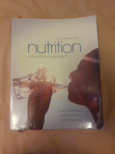 Nutrition A Functional Approach Third Canadian Edition Textbook
