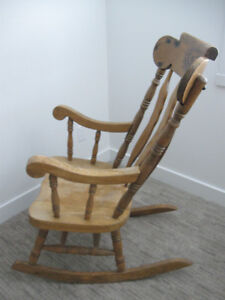 Vintage, wooden rocking chair Prince George British Columbia image 4