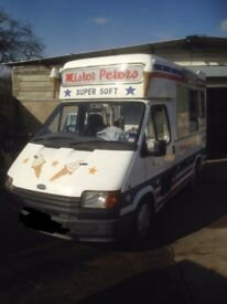 Whitby Morrison soft ice cream van for sale