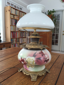 LAMPE ANTIQUE « GONE WITH THE WIND »