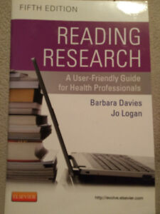 READING RESEARCH, A User Friendly Guide for Health Professionals