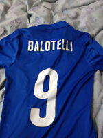 Authentic 2014-15 Italy jersey - Balotelli
