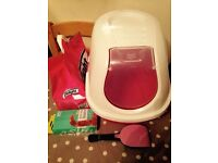 Cat Litter Tray & Pooper Scooper with extras