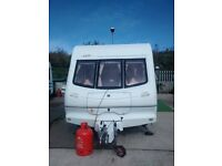 Elddis typhoon 4 birth caravan