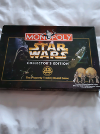 Star wars monopoly collectors edition 20 years