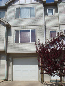 For rent: 4 BR, 3.5 Bath,Townhouse, Pets, Timberlea, Aug. 1