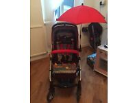 Mamas and papas sola 2 pram/pushchair