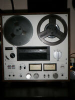 Sony Stereo Reel to Reel Tape Recorder TC-399 w/ Tapes - Vintage