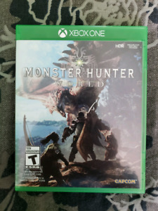 Monster Hunter World Xbox One - great shape! Lightly played