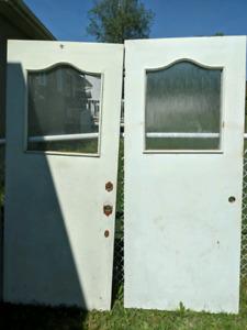 Porte d entrer parfait pour chalet ou cabane a sucre