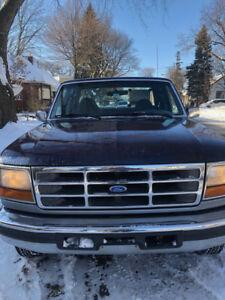 Ford F-250 diesel /  7.3 L  / 1995 / 182,000 km /  $5,500
