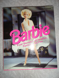 Barbie - Four Decades of Fashion, Fantasy, and Fun (Hardcover)