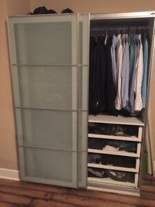IKEA PAX Wardrobe (58 7/8 x 22 7/8 x 79 1/4)