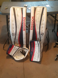 34+2 premier p4 goalie gear
