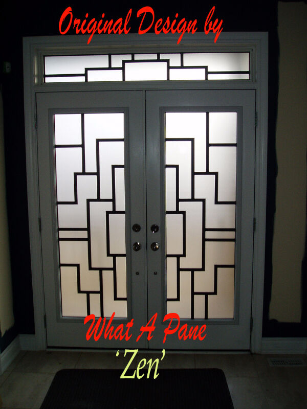 Wrought Iron Stained Glass Door Inserts Window Treatments