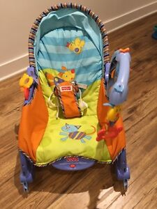 Fisher Price Newborn To Toddler Portable Rocker (Blue) Used West Island Greater Montréal image 5