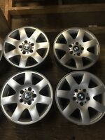 "4-16"" BMW 5x120mm alloy rims"