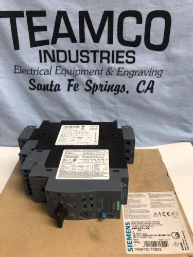 Siemens 3RA6120-1CB32 Motor Starter 1-4A 3P 690V