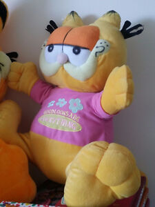 ▀▄▀GARFIELD PLUSH TOY GOOD LOOKS ARE EVERYTHING SOFT TOY