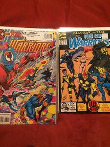 New Warriors Comics